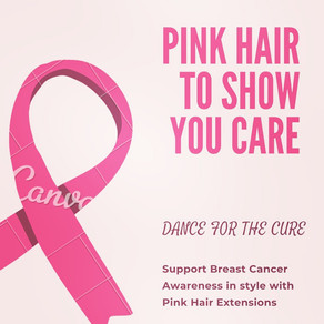 Pink Hair to Show You Care!