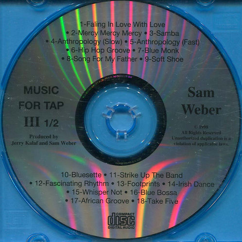 Sam Weber - Music for Tap 3.5 (CD)