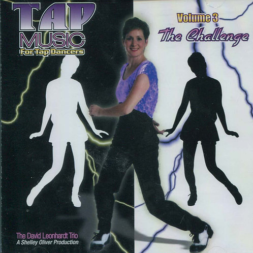 Tap Music For Tap Dancers Vol.3 - The Challenge (CD)
