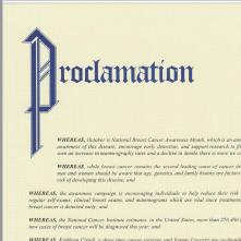 Proclamation 2020