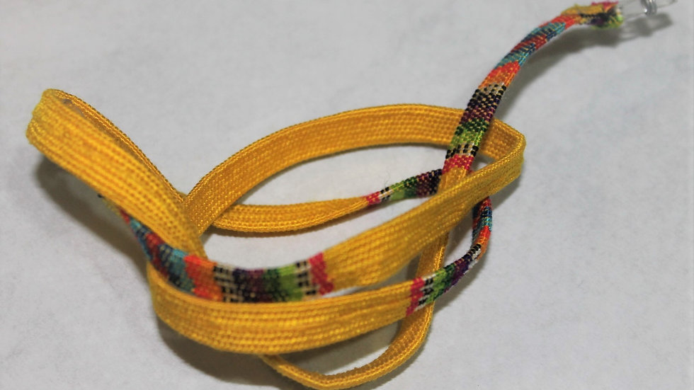 Colgante de gafas Amarillo