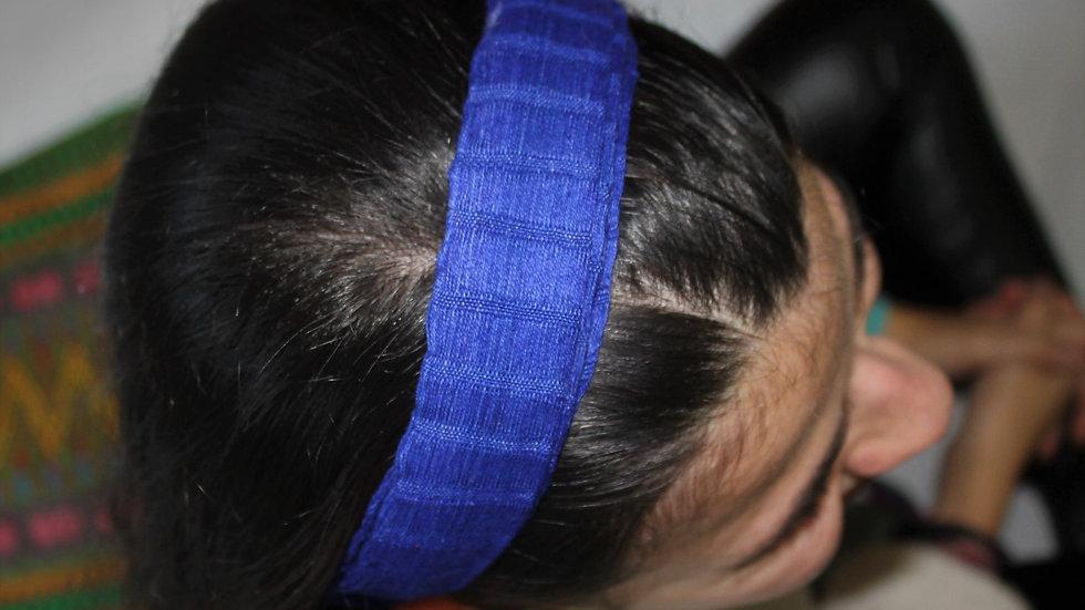 Diadema lisa Azul