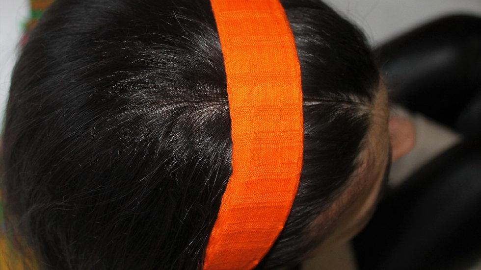 Diadema lisa Naranja