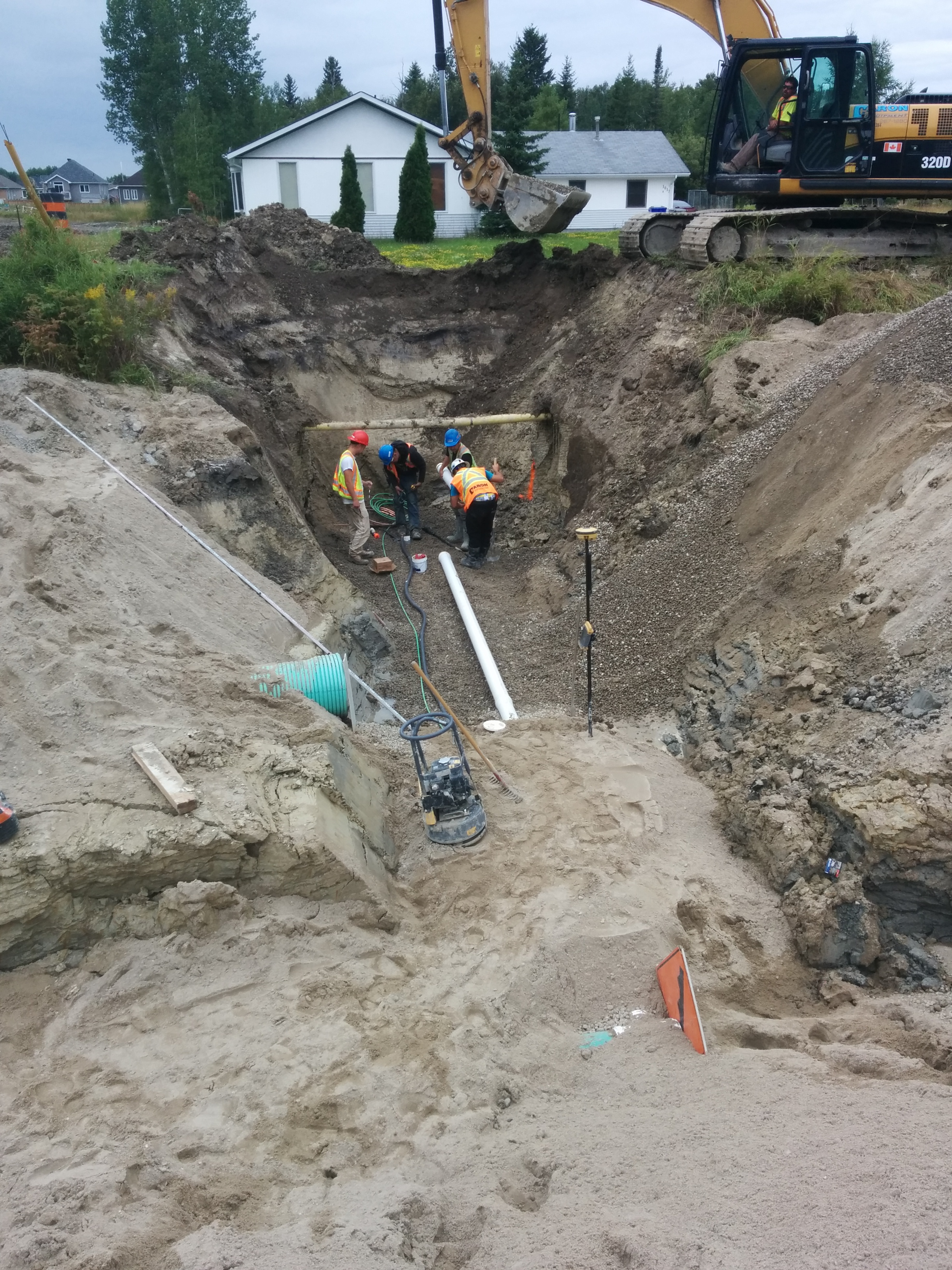Draining and Storm Water Systems.
