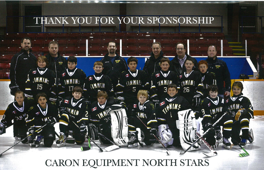 Caron Equipment North Stars