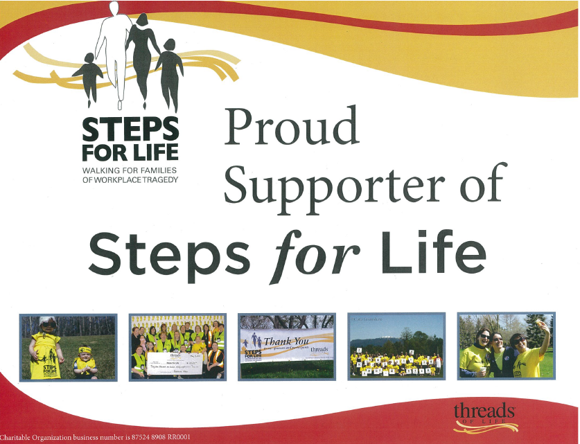 Steps for Life - Threads for Life