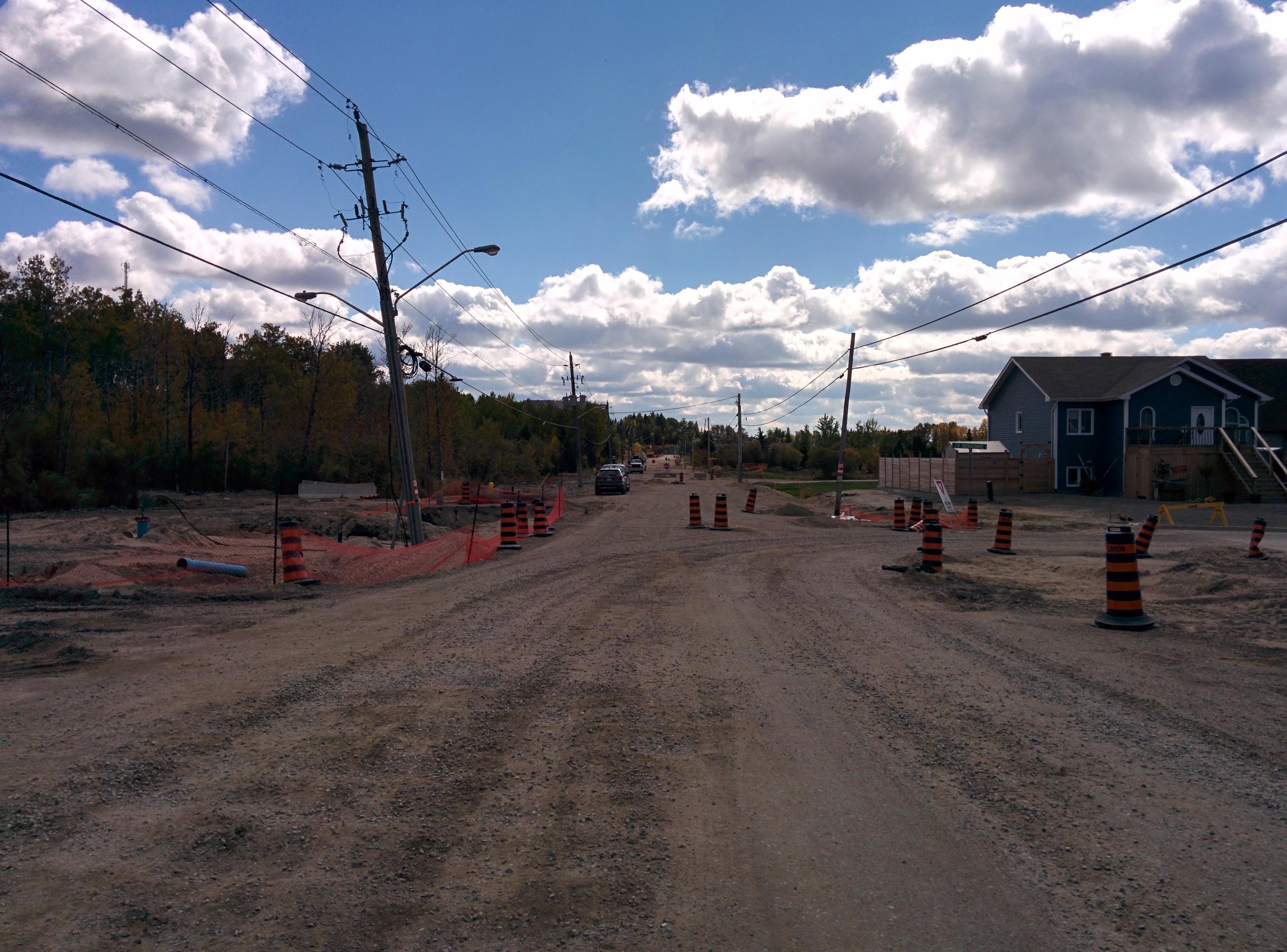 Road Construction Improvements