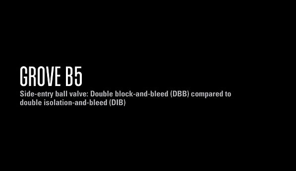 GROVE B5: DB&B vs DIB