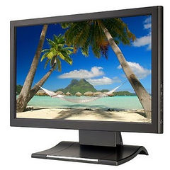"""17"""" LCD Touch Screen Monitor"""