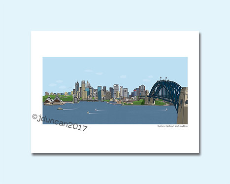 Sydney Harbour, Sydney Opera House, Sydney Harbour Bridge
