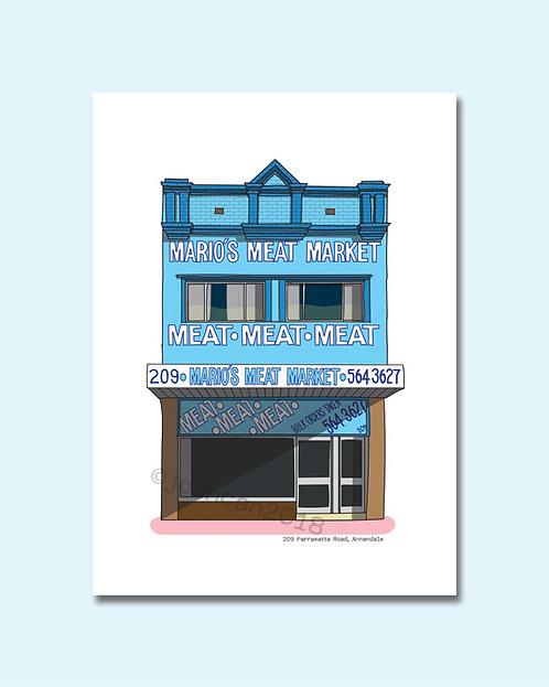 Mario's Meat Market, Annandale, Inner West, Sydney