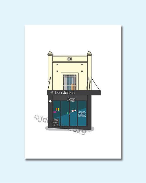 Lou Jack's Cafe, Lou Jacks Newtown, Newtown, King Street Newtown
