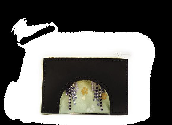 wisteria coin pouch