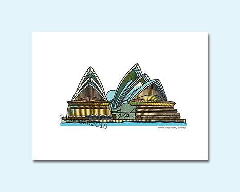 Sydney Opera House, Bennelong Point, Sydney, Sydney Souvenirs