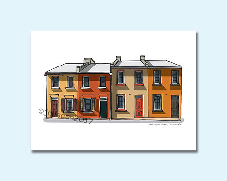Kensington Street, Chippendale, Spice Alley, Central Park