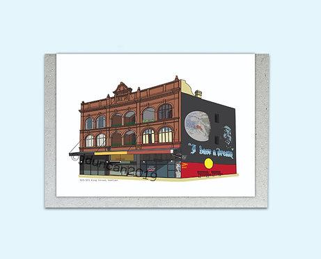 Newtown, Sydney Illustrator, Sydney Architecture, I Have a Dream