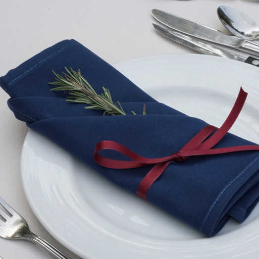 Fresh Rosemary | Simple Place Setting
