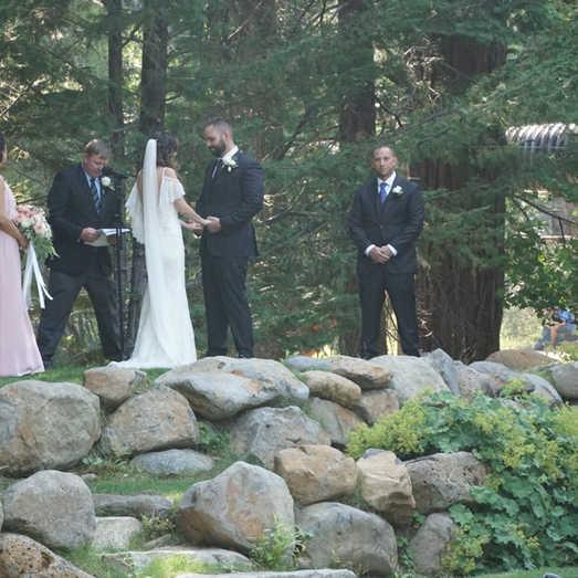 Intimate Ceremony | Outdoor Wedding