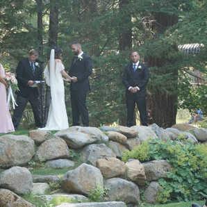 Intimate Ceremony   Outdoor Wedding