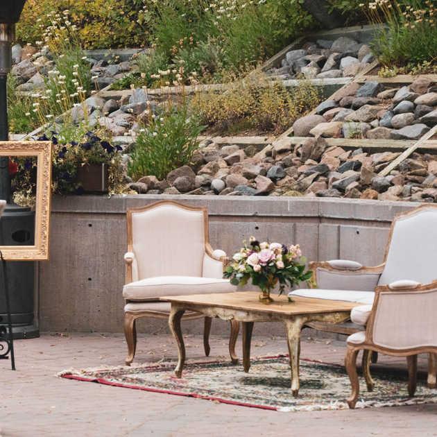 Cocktail Seating   Wedding Decor Rentals