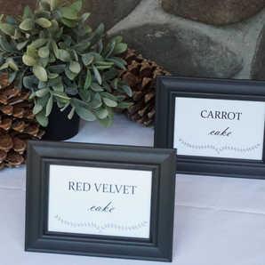 Wedding Details   Print Signage