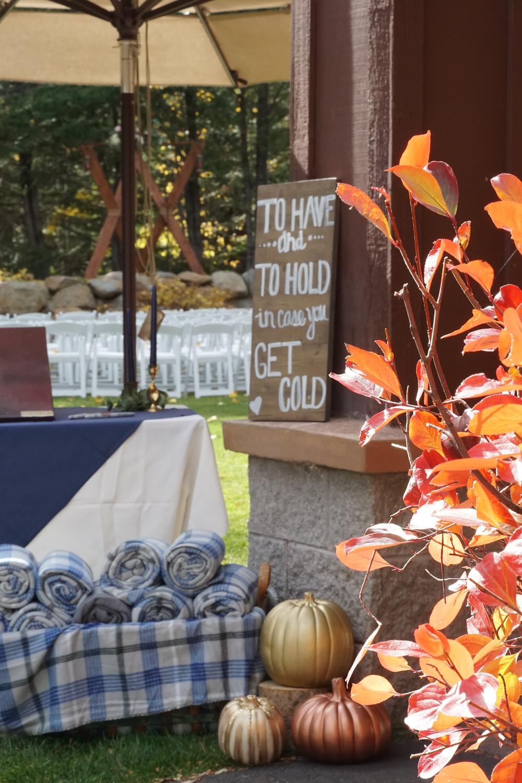 Lake Tahoe Wedding - Fall Colors