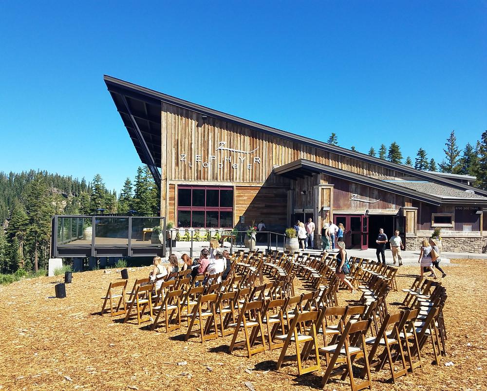 lake tahoe weddings at northstar california