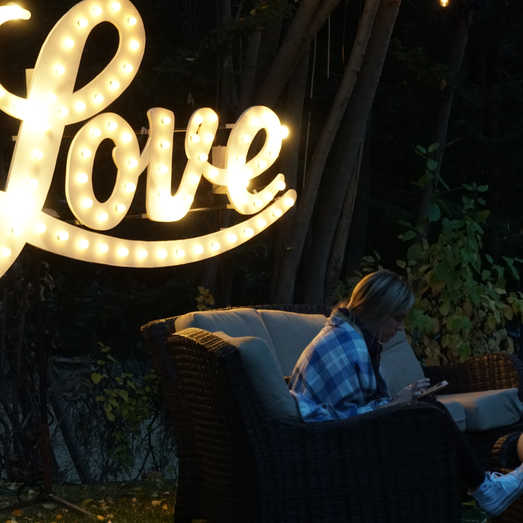 Outdoor Wedding Signage