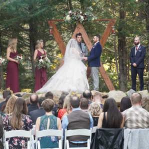 Fall Ceremony In Lake Tahoe   Outdoor Weddings