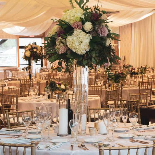 Floral Centerpieces | Indoor Reception