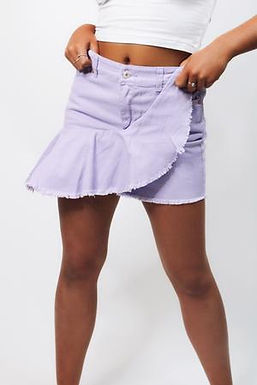 Smell The Lavender Skirt