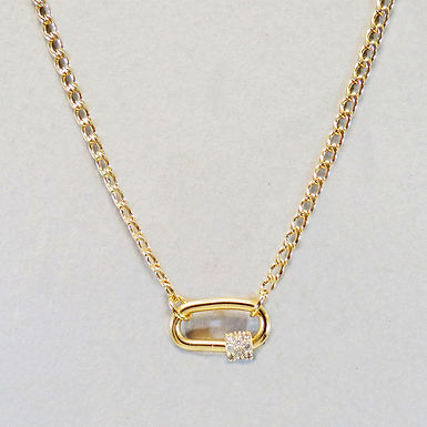 Fast Lock Necklace - Gold