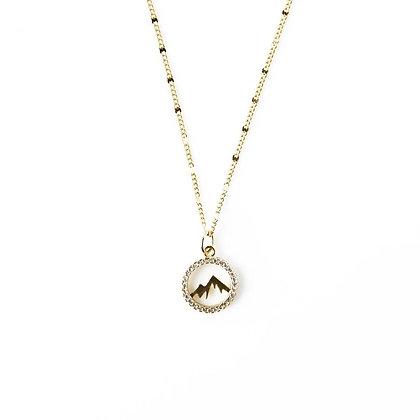 Keep Climbing Necklace - Mountain