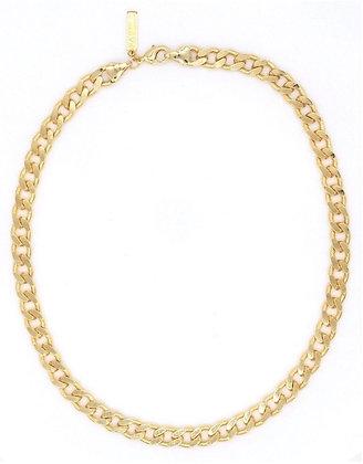 Leila Cuban Link Choker - Gold