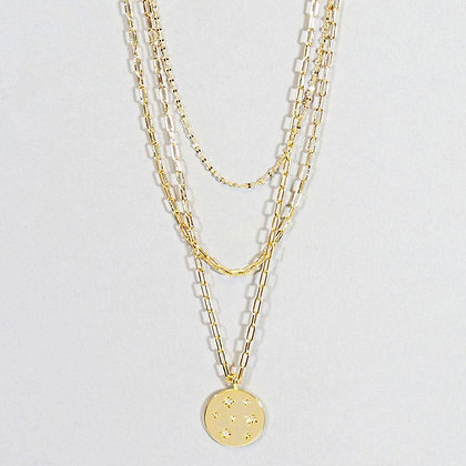 Star Coin Layered Necklace