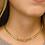 Thumbnail: Leila Cuban Link Choker - Gold