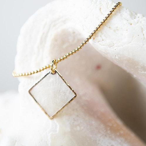 Capiz Shell Bracelet - Diamond