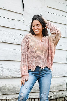Shades Of Sand Sweater