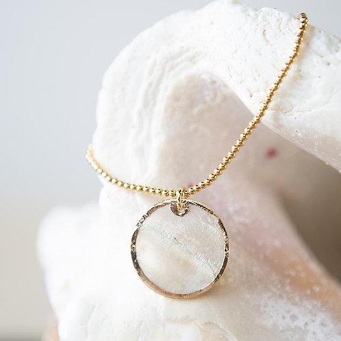 Capiz Shell Bracelet-Round