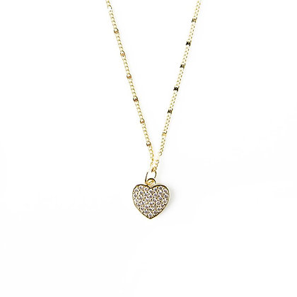 You Are Loved Necklace - Heart