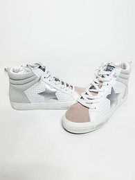 """""""Jane"""" A Hint Of Pink Sneakers"""