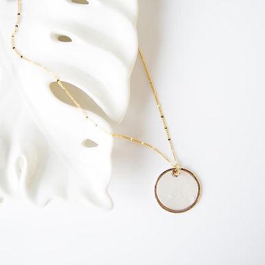 Capiz Shell Necklace - Round