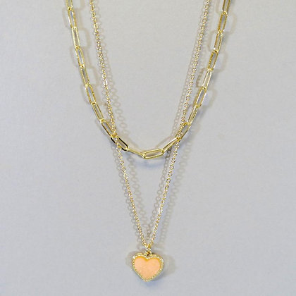 Heart Layered Necklace