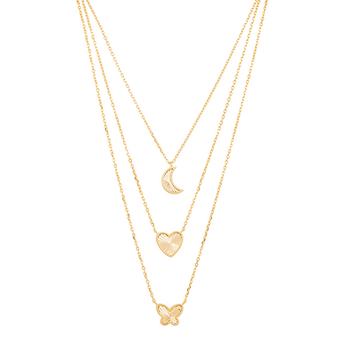 Pendant Necklaces - Butterfly