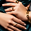 Thumbnail: Cindy Studded Ring - Gold
