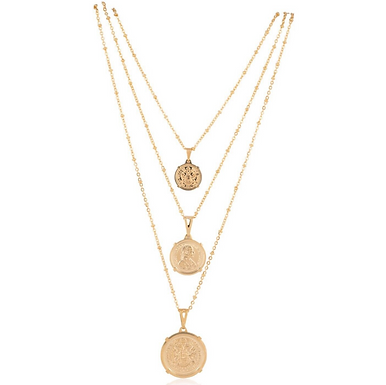 Emperor Coin Necklace - Medium