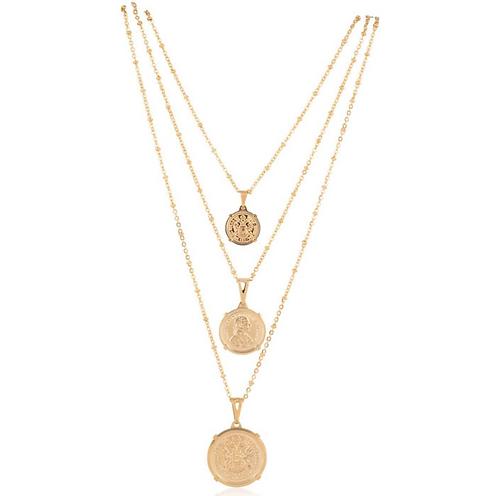 Emperor Coin Necklace - Medium