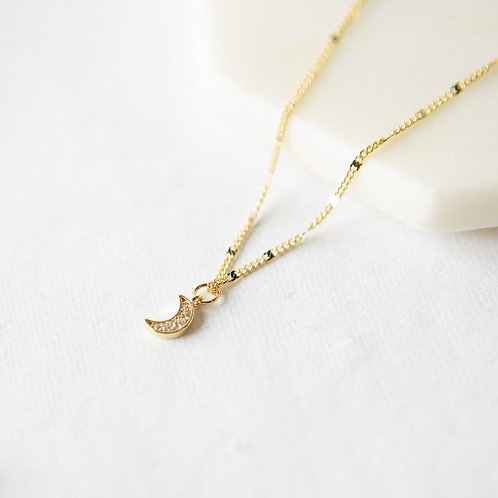 Shine Bright Necklace - Moon