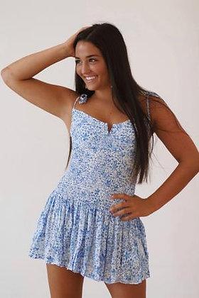 Pop Of Blue Dress