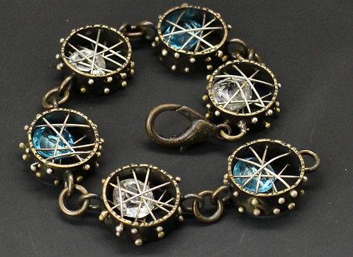 Crystal Cage Bracelet